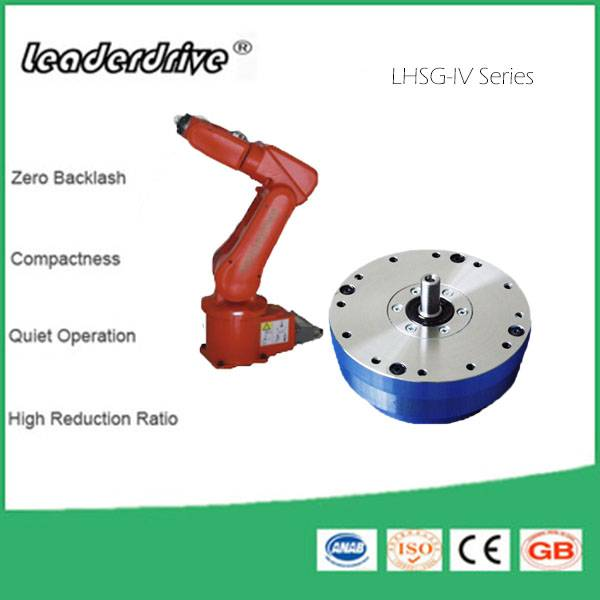 Harmonic Gear Drive Speed Reducer with Zero Backlash for Industrial Robotics Wrist (LHSG-IV)