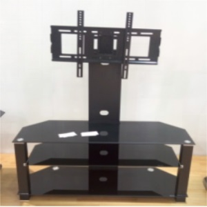 tranditional glass tv stand