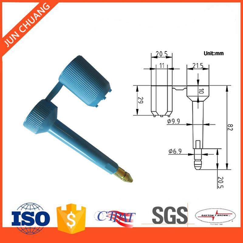 Bolt seal for container with high quality