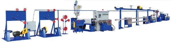 30mm-150mm Wire & Cable Sheath Extrusion Line
