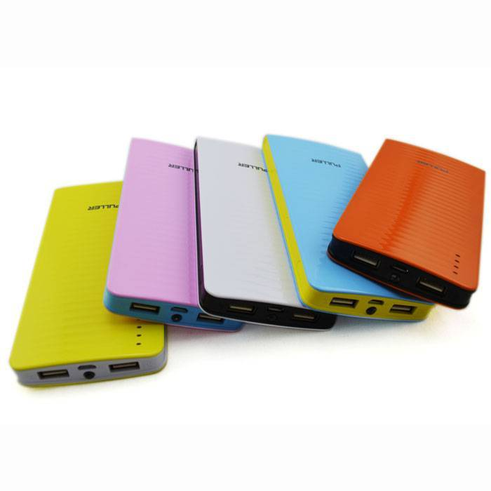PULLER BRAND 2 USB outputs 10000mAh portable phone charger