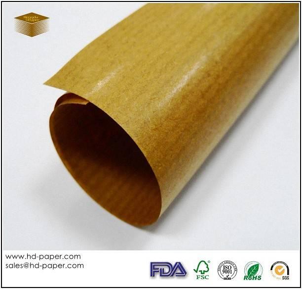Brown Ribbed Kraft Paper
