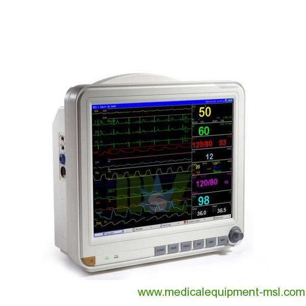 15 Inch Color TFT Multi-Parameter desktop patient monitor MSLMP04