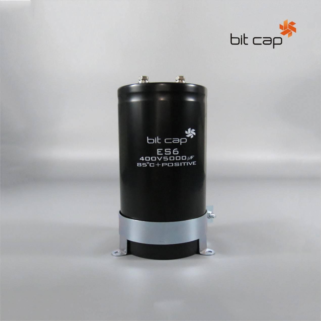 bit cap ES6  400V 5000uF  aluminum electronic capacitors