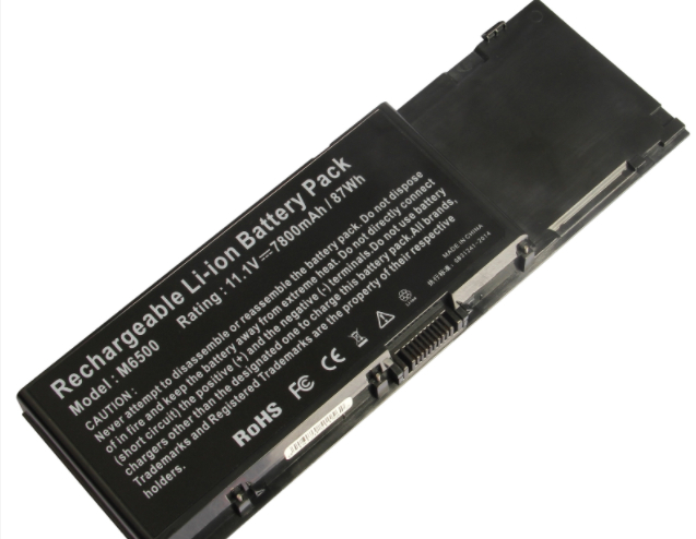 Dell M6500 Polymer Laptop Battery 11.1V 7800mAh