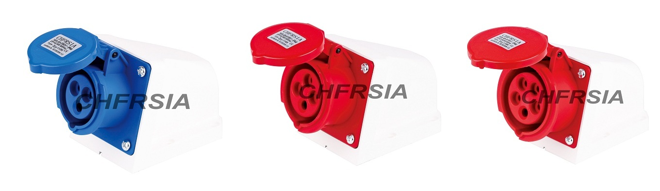 New generation Surface mounting industrial socket 3P 4P 5P IP44