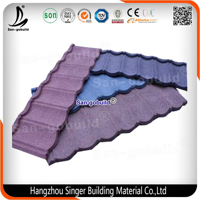 2016 New Design Metal Roofing Sheet/Cheap Popular Roof Tiles/Corrugated Metal Tiles
