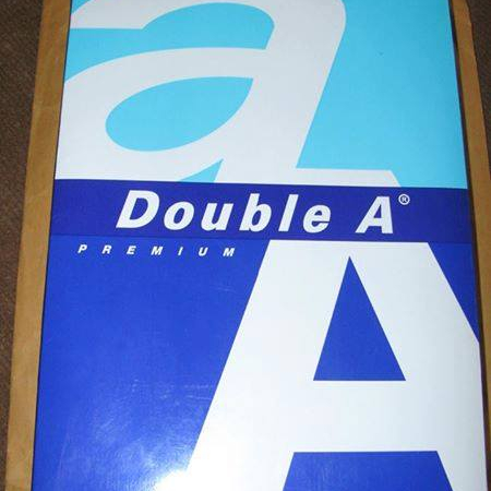Double A A4 Paper Copy Paper (narumon 1986 group of companies)