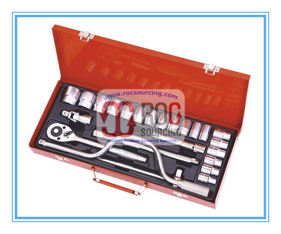 High Quality 25PCS Socket Set Socket Wrench Other Tool Set Tool kit Tool box Hand tool
