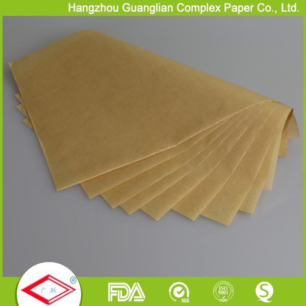 Unbleached brown parchment paper