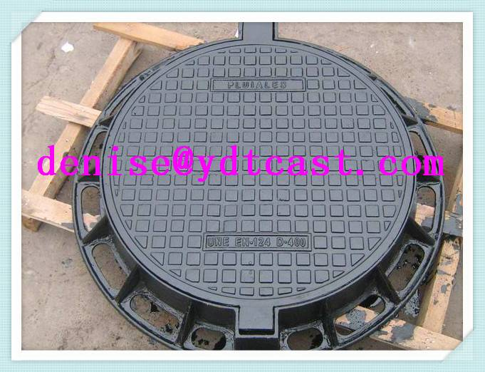 Double seal Manhole cover 600mm Dia