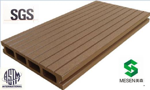 wood plastic composite(WPC) landscape outdoor flooring decking