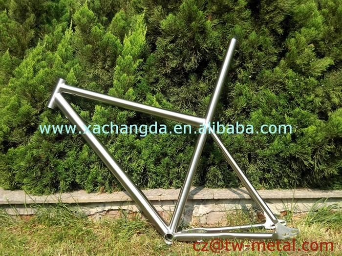Titanium mountain bicycle frame Ti mtb bike frame customized bike part