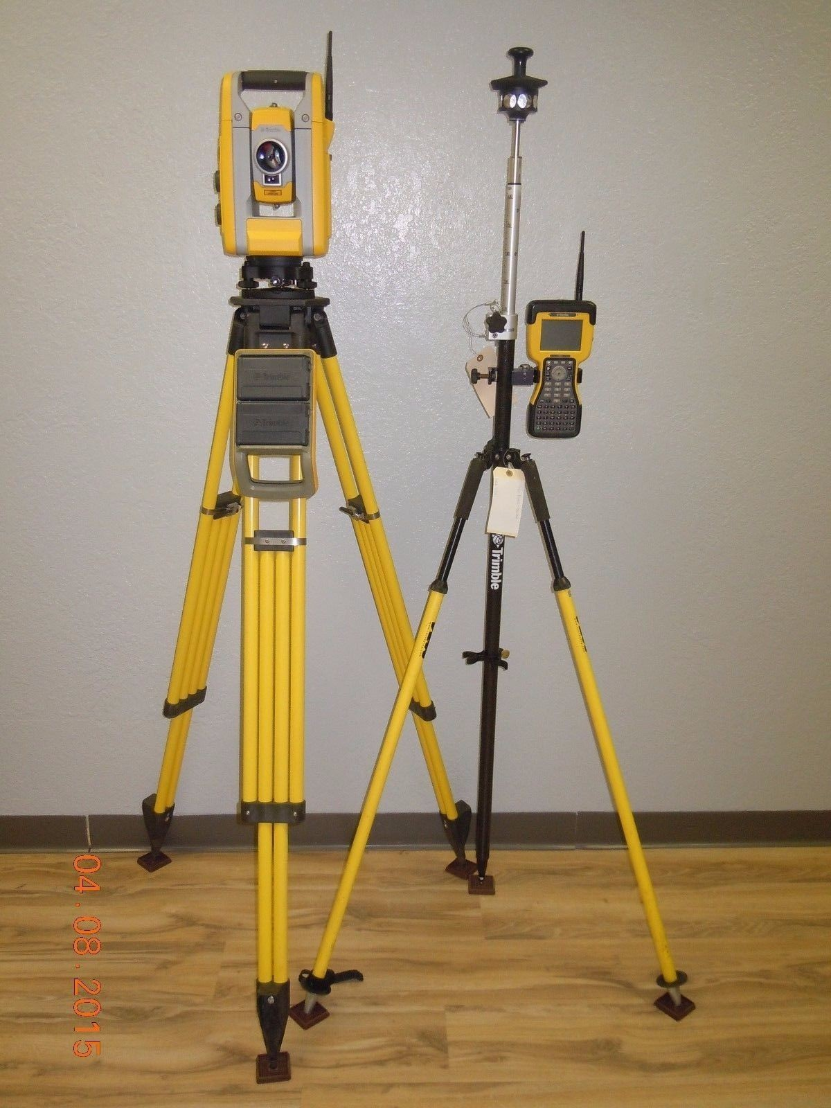 "Used Trimble S3 Robotic Total Station 5"" Sec Survey Controller SPS S6 Active Tracking"