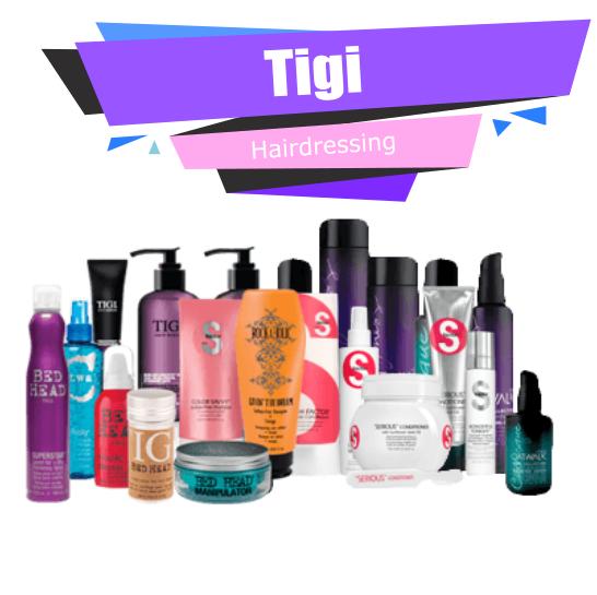 Tigi Hair Care Cosmetics Full Offer