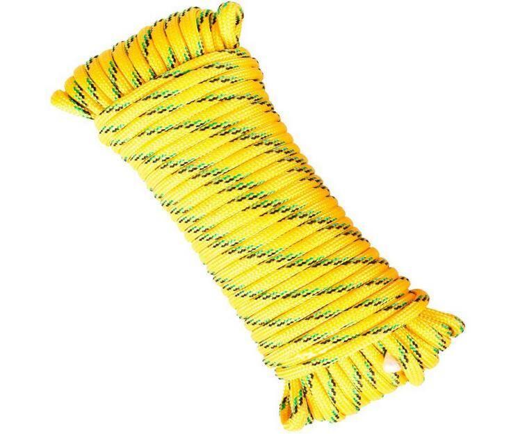 braided/twisted rope pp/pe/pet/nylon