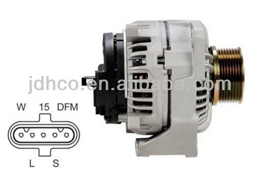 Alternator for MERCEDES 0111548602 BOSCH 124555004 24V 80A/100A