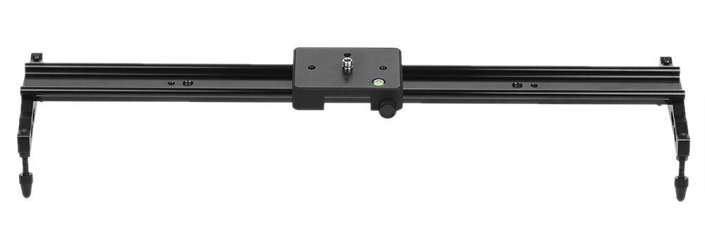 60cm Video Track Slider Dolly Track Rail Stabilizer Aluminum Alloy for Canon Nikon Sony Cameras
