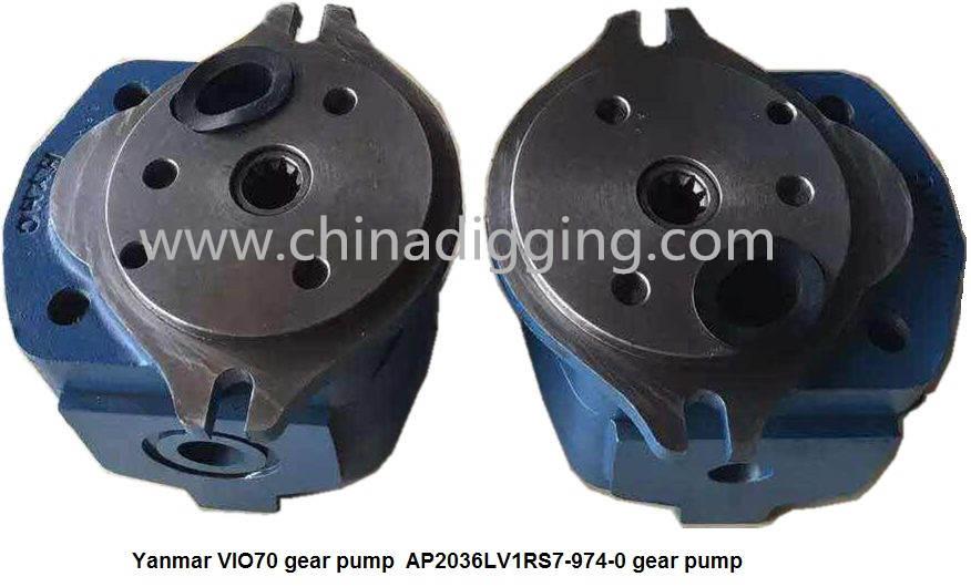 Yanmar VIO70 excavator gear pump