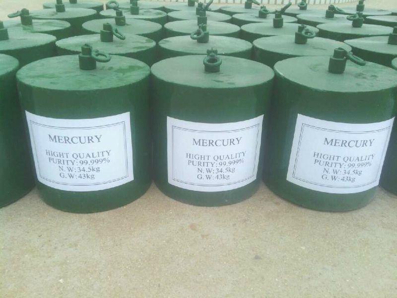 mercury 99.99% purity