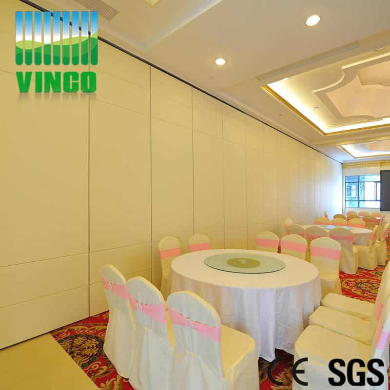 Movable sound proof wood room dividers partitions