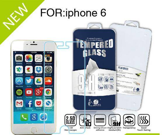Hot Sale Privacy Tempered Glass Screen Protector for iPhone 6