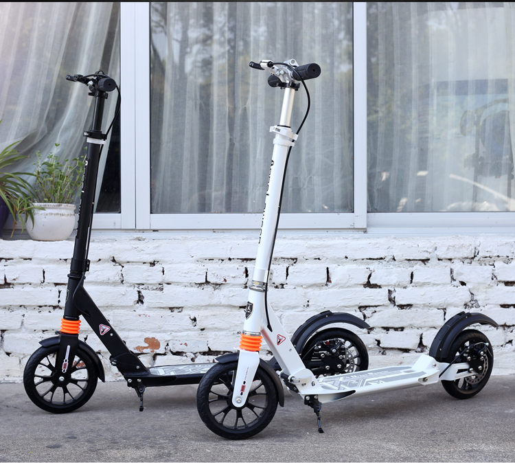 Hot sale cheap NEWEST design disc brake kick scooter for adults