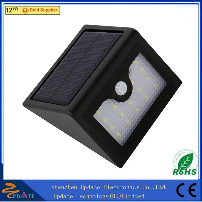 New Solar Power Outdoor 16LED Light Motion Activated Light for Garden Patio Path Pool Lighting