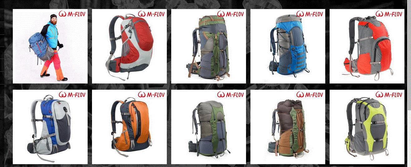 2017 China The Latest Design Outdoor Sports Backpack Manufacture