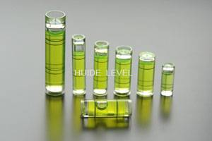 HUIDE plastic tubular spirit level vial