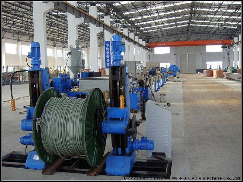 Hot sell high quality Products 2 layer Insulation Copper Wire Machine for extruding made in china
