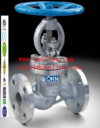 9  A217-C5/WC6/WC9 flanged globe valve