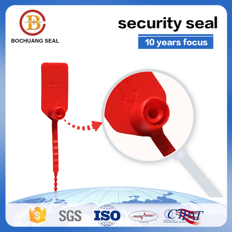 plastic security seals iso 17712