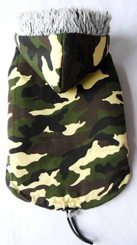 Camouflage pet clothes