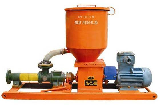 The bore is sealed by making use of electric pump