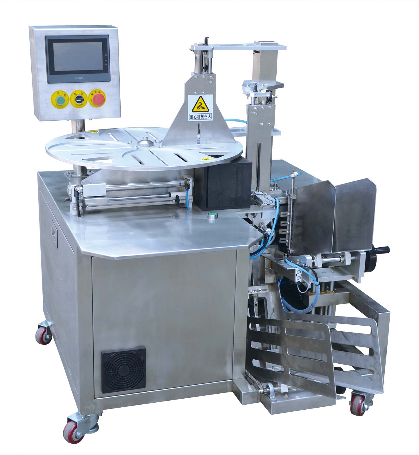 High Speed Facial Mask Film Folding Packing Machine