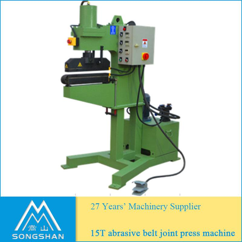 15T abrasive belt joint press machine
