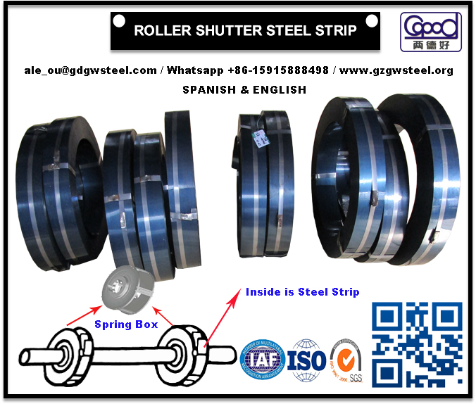 Roller Shutter Steel Strip