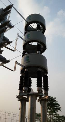 high voltage reactor