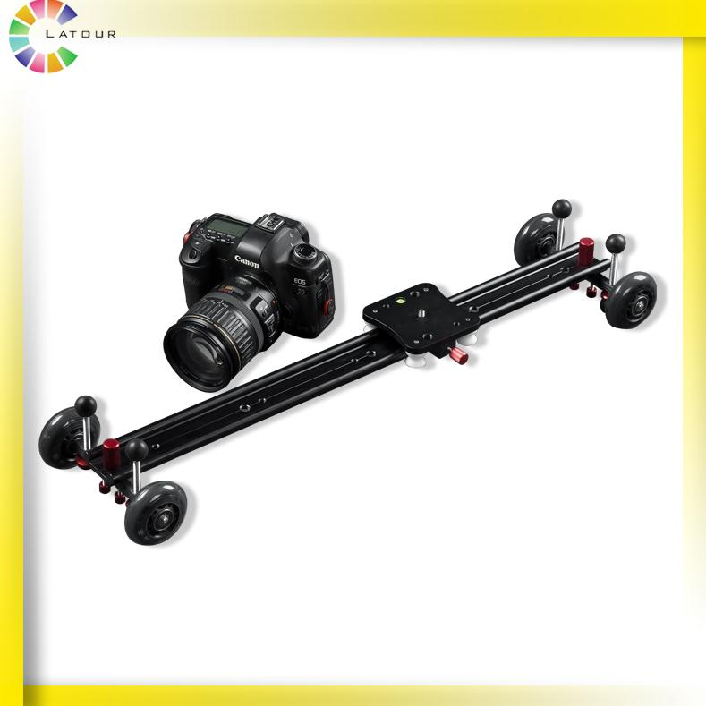 Slider Camera Track Dolly Camera Slider Track with Wheel Video Stabilizer System GT-Y60