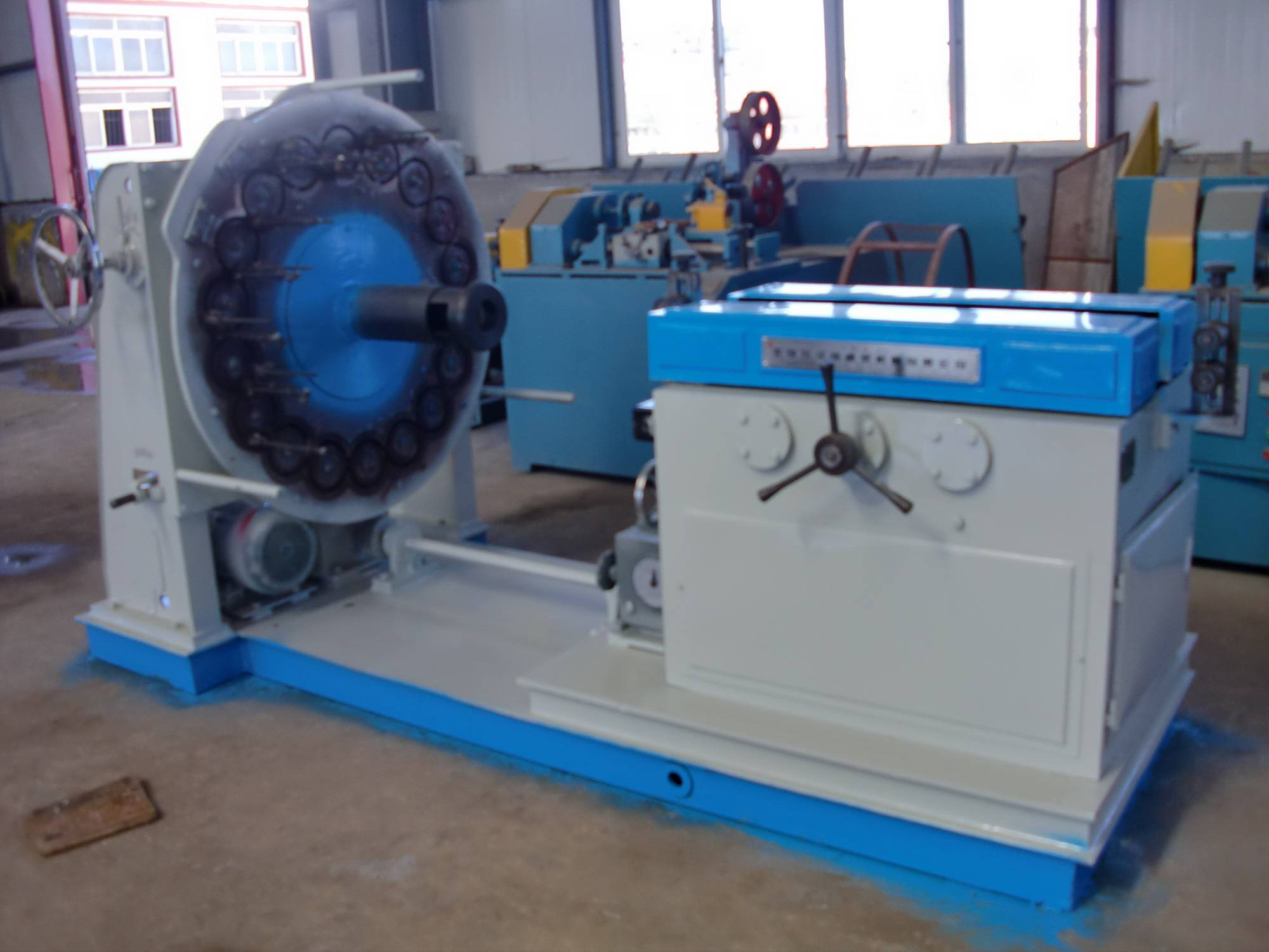 GBG-48 Spindle Stainless steel horizontal wire braiding machine