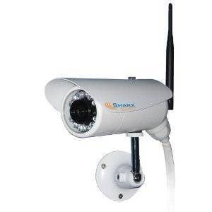 Sharx Security SCNC3605 Wireless Weatherproof Outdoor MPEG4 IP Network Camera with Infrared