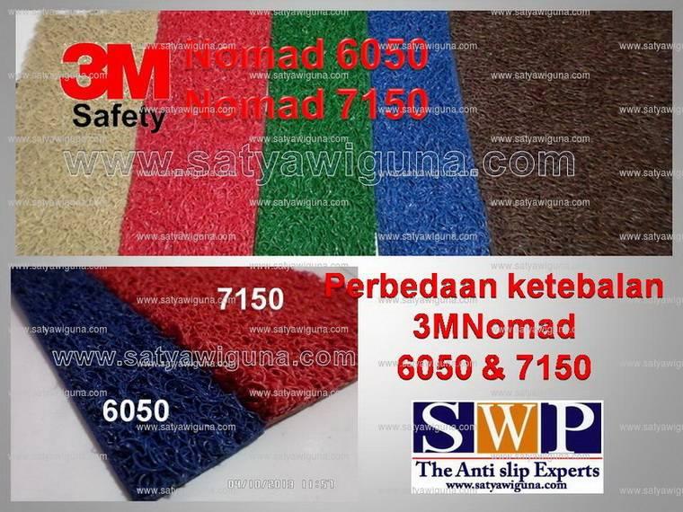3M Nomad 6050 dan 7150 keset kaki indonesia