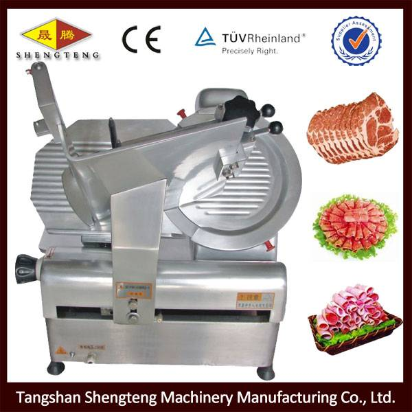 32B full automatic frozen meat slicer machine