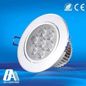 Home Indoor 7W Led Downlight Recessed Ceiling Downlight AC220V Spot Bulb Lamp Light