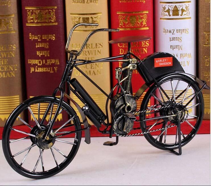 metal bicycle model