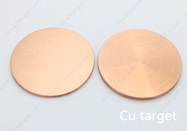 Coating material high Purity Cu sputtering Copper target