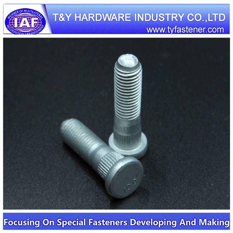 wheel bolt zp/zyp/zinc green plated/HDG/DAC