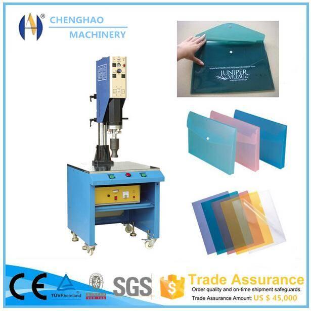 15khz 4200w soldering pvc file folder welding machine with CE