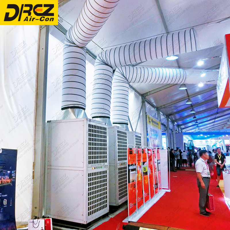 Drez 30ton AC Unit for Luxury marquee tents with tent air conditioner